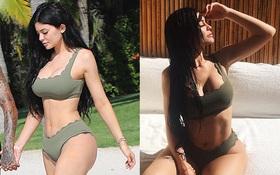 """Đầu năm mới, Kylie Jenner đã thiêu đốt bãi biển với thân hình """"vòng nào ra vòng nấy"""" quyến rũ"""