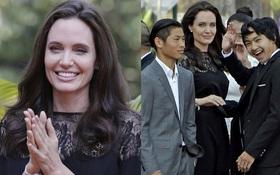 Angelina Jolie xuất hiện xinh đẹp cùng Pax Thiên sau tin đồn hẹn hò tình mới