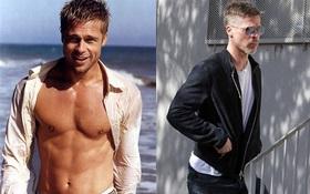 Brad Pitt lực lưỡng ngày nào giờ gầy gò, hốc hác sau khi ly hôn