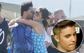 The Weeknd ôm hôn Selena không ngừng ở Coachella, Justin chắc sẽ không thích điều này!