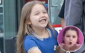 Xem Harper Beckham hát mừng sinh nhật mẹ cực đáng yêu, ai cũng sẽ muốn có một em bé như vậy!