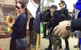 Angelina Jolie xuất hiện vui vẻ cùng các con sau tin đồn suy sụp vì nhớ Brad Pitt