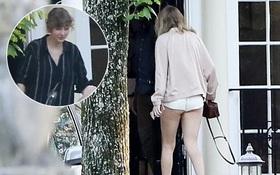 Đã lâu mới xuất hiện, Taylor Swift lại bị chỉ trích ăn mặc hở hang