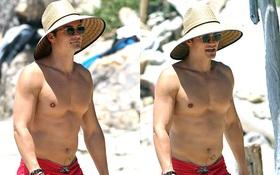 Orlando Bloom khoe body hấp dẫn ở tuổi 40, trông con cho Miranda Kerr nghỉ bên chồng mới