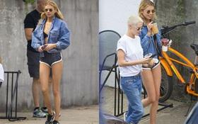 Chân Kristen Stewart đã đẹp, mà chân của bạn gái cô còn thon và dài hơn!