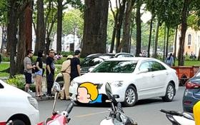 Đỗ xe sai nơi quy định, Soobin Hoàng Sơn và Tóc Tiên bị lập biên bản hành chính