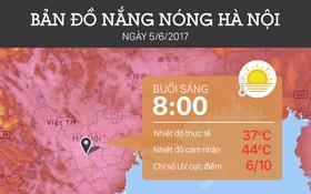 Vì sao mới đầu hè nhưng nắng nóng ở Hà Nội đã vượt kỷ lục hơn 40 năm qua?