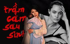 """""""Bà mẹ bỉm sữa"""" showbiz đối mặt với trầm cảm sau sinh: Người như hoá điên hoá dại, kẻ sa đà ma tuý đòi tự sát"""