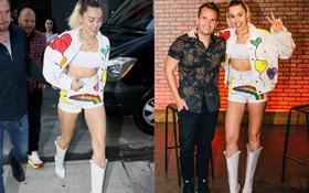 Nhìn đôi chân thon dài của Miley Cyrus, chẳng ai nghĩ cô ấy lại cao 1m65!