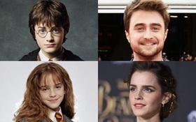 """Ngày nào còn là những cô cậu bé, dàn sao """"Harry Potter"""" bây giờ khiến bạn nhận ra mình già rồi!"""