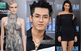 """Ngô Diệc Phàm đẹp trai """"lai láng"""" tại sự kiện bên dàn mỹ nhân Cara Delevingne, Kendall Jenner"""