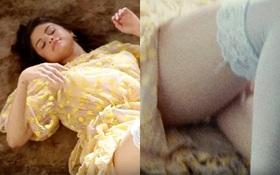 """Selena Gomez cố tình """"hớ hênh"""" nội y đầy gợi cảm trong hậu trường MV"""