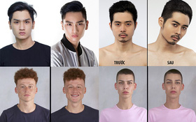 Gội đầu, chải tóc cho thí sinh, xong Next Top gọi đây là makeover à?