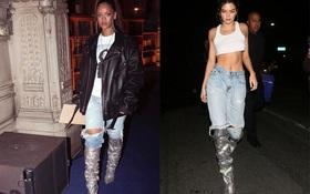 Đi boot 230 triệu mừng sinh nhật, ai ngờ Kendall Jenner lại đụng hàng với Rihanna