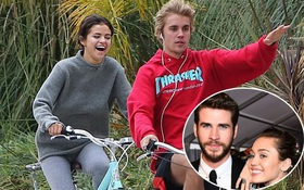 Miley - Liam chính là nguồn động lực cho Justin có hy vọng sẽ hạnh phúc mãi mãi bên Selena?
