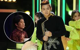 """Hoài Linh trầm ngâm theo dõi Hoài Lâm biểu diễn sau tuyên bố """"lạnh nhạt"""" với con trai"""