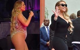 Mariah Carey bụng to đùi mỡ bỗng thon gọn thần kỳ nhờ phẫu thuật cắt vạt dạ dày