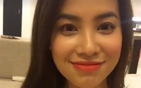 Hoa hậu Phạm Hương lần đầu tiên livestream tiết lộ mong muốn đưa Running Man về Việt Nam