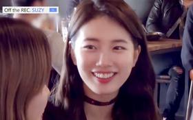 Là sao hạng A, Suzy vẫn sẵn sàng làm bồi bàn để giúp đỡ bạn