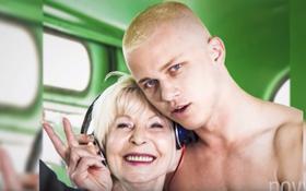 """""""Next Top Ukraine"""" cho thí sinh bán nude, chụp hình thân mật với các cụ già"""