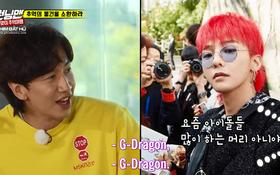 G-Dragon để tóc kiểu này thì được khen, còn Lee Kwang Soo thì ngược lại!