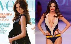 Bụng to đến mấy khi mang thai, các thiên thần Victoria's Secret vẫn lấy lại được dáng thon một cách thần kỳ!