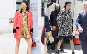 Chưa cần photoshop, Kendall Jenner đã tỏa sáng cả góc phố với thần thái sang chảnh ngút ngàn
