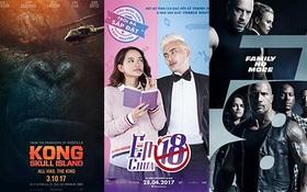 2017: Năm của những kỉ lục phòng vé cùng sự phấn chấn đến từ phim nội