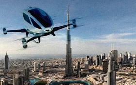 Đúng là ở Dubai, chỉ taxi thôi cũng phải ngầu đến mức này mới chịu được