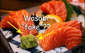 """Bạn nghĩ mình đang ăn wasabi """"chính hiệu"""" với món sushi thần thánh ư? Chưa chắc đâu"""