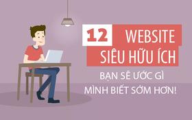 12 website hữu ích bạn chắc chắn sẽ tiếc vì không biết sớm hơn