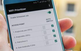 Xung quanh có quá nhiều mạng Wifi, dùng app này điện thoại sẽ luôn chọn Wifi mạnh nhất