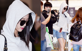 """Phong thái nữ thần của Yoona: Đến trùm kín như ninja cũng đẹp """"không góc chết"""""""