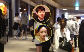 """Fan Thái bắt gặp Yoochun lần đầu đưa vị hôn thê gia thế """"khủng"""" đi trung tâm thương mại"""
