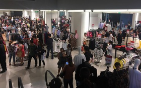 Store Zara ở Sài Gòn chật cứng người mua sắm trong ngày sale đầu tiên