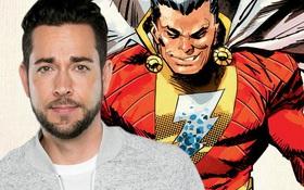 Nam diễn viên hài Zachary Levi chính thức trở thành Shazam của Vũ trụ Điện ảnh DC