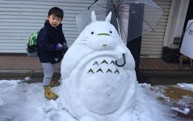Tuyết rơi dày kỷ lục ở Nhật Bản, người dân đã vô tình tạc nên những bức tượng đẹp tới không ngờ