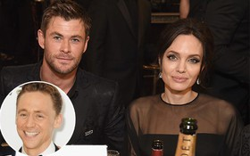 Chris Hemsworth mai mối cho Angelina Jolie hẹn hò với Tom Hiddleston?