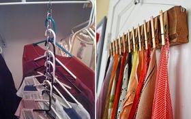 15 ý tưởng giúp bạn sắp xếp quần áo giày dép gọn gàng mà không tốn diện tích