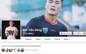 Facebook giả mạo thủ môn Bùi Tiến Dũng có 500.000 người theo dõi! Đây mới là tài khoản thật mọi người ơi