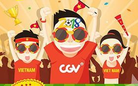 """Thưởng thức trận cầu """"ngàn năm có một"""" của U23 Việt Nam tại phòng chiếu đẳng cấp"""