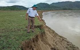 Phát hiện thi thể người đàn ông lõa thể trên sông Lam