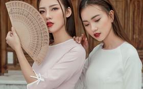 Xu hướng áo dài Tết 2018: Thanh nhã, mộc mạc, tinh tế hơn!