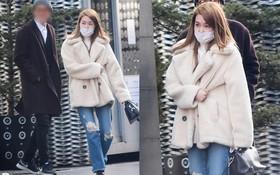 Lần đầu về Hàn sau 3 tháng rời SM, Tiffany tươi tắn xuất hiện bên cạnh người đàn ông lạ mặt