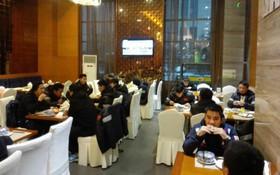 Những hình ảnh cuối cùng của U23 Việt Nam tại khách sạn ở Trung Quốc, trước khi về Việt Nam