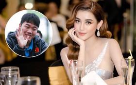 """Giữa dàn cầu thủ """"cực phẩm"""" U23 Việt Nam, Xuân Trường được Huyền My đặc biệt ưu ái!"""