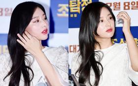 """Có ai như nữ thần """"Hậu duệ mặt trời"""" Kim Ji Won, lộ nọng cằm vẫn đẹp ná thở như đi thảm đỏ thế này?"""