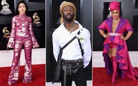 """Thảm họa tại Grammy 2018: Từ những khối màu di động khổng lồ cho đến nam nhân diện """"sịp"""" ngoài quần"""