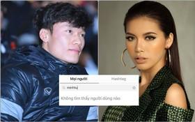 Thủ môn Bùi Tiến Dũng đã hủy theo dõi Minh Tú trên Instagram
