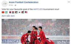 U23 Uzbekistan vô địch nhưng U23 Việt Nam mới được fanpage AFC chọn để ảnh đại diện link bàn thắng đẹp nhất
